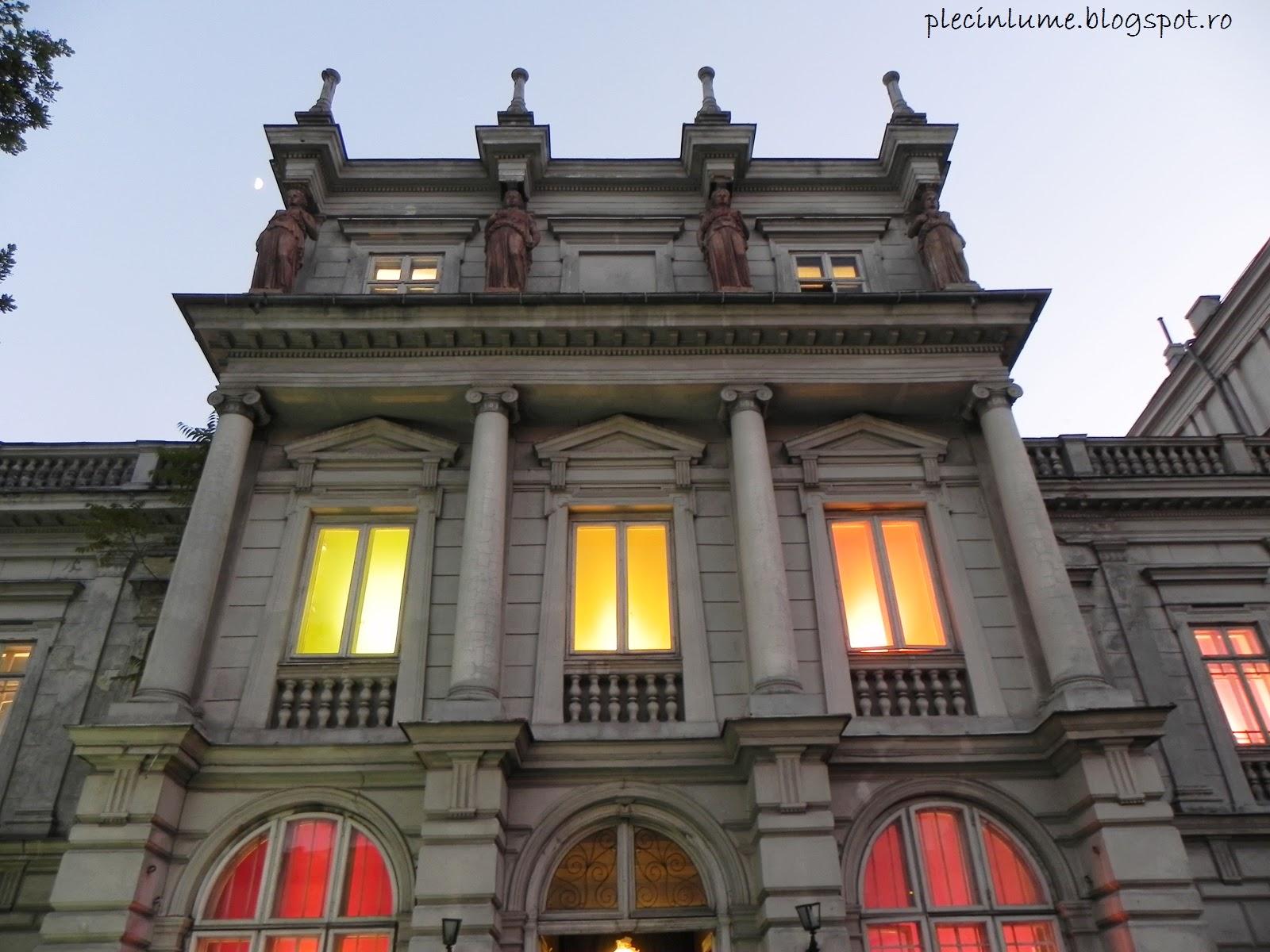 Palatul Stirbei vazut din fata
