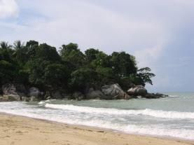 teluk uber beach