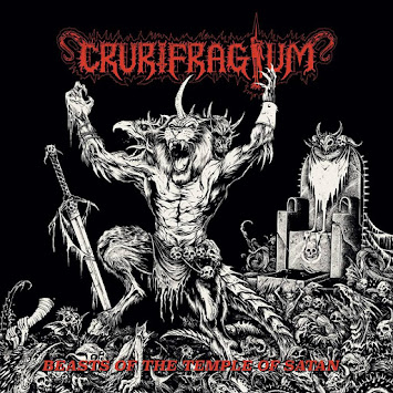 "CRURIFRAGIUM - ""BEASTS OF THE TEMPLE OF SATAN"""