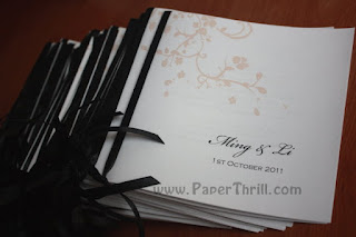 Wedding invitation cards floral