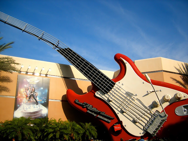 Rock 'n' Rollercoaster - Hollywood Studios, Disney World, Florida
