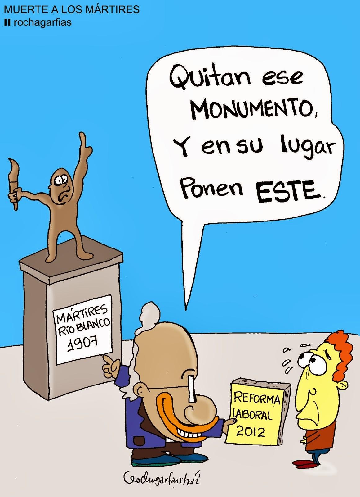 Muerte a los Mártires (de Río Blanco y Cananea)