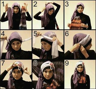 model Hijab Untuk Acara Pesta Pernikahan
