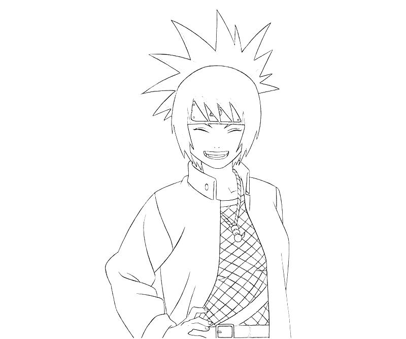 printable-naruto-anko-mitarashi-smile-coloring-pages