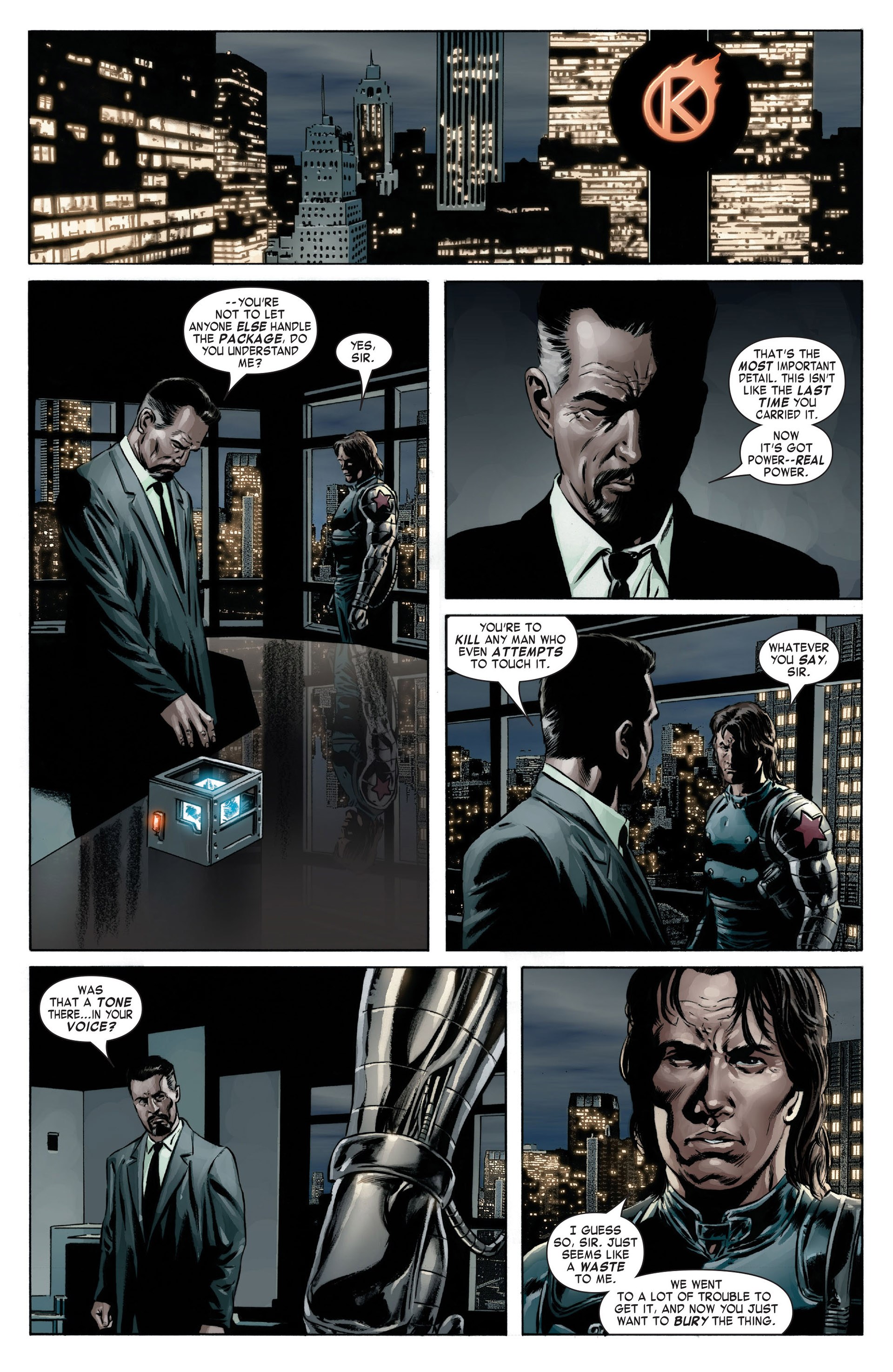 Captain America (2005) Issue #13 #13 - English 6