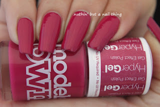 Models Own Twilight Hypergel Collection - Loganberry