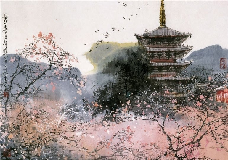 liu maoshan chinese ink painting blog of an art admirer