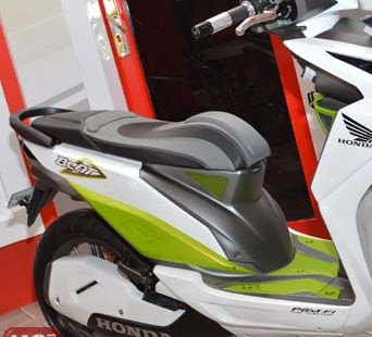 modifikasi jok honda beat f1
