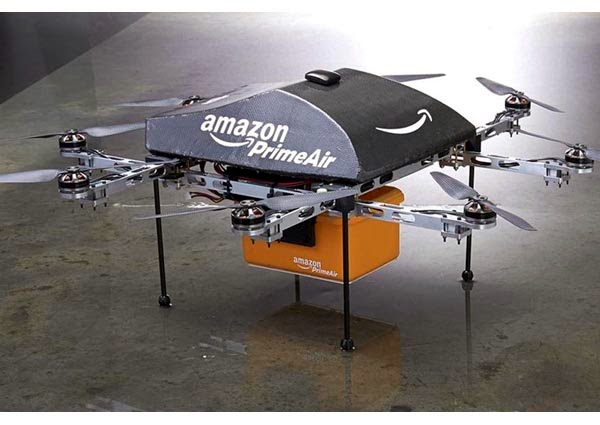 "Amazon ""Prime Air"" Delivering Orders Within 30 Minutes"