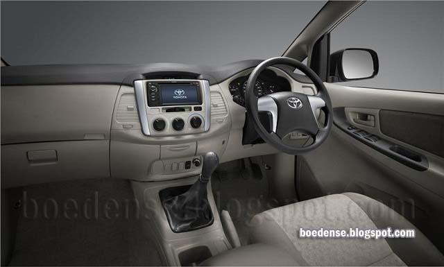interior Toyota Innova 2016