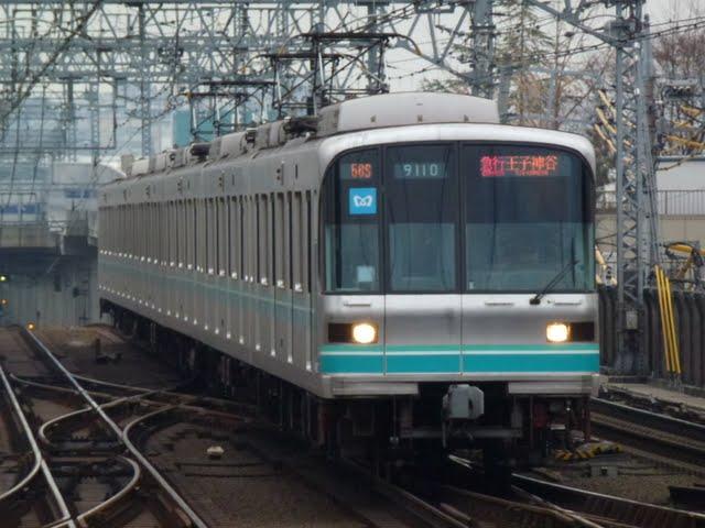 東京メトロ南北線 急行 王子神谷行き 9000系