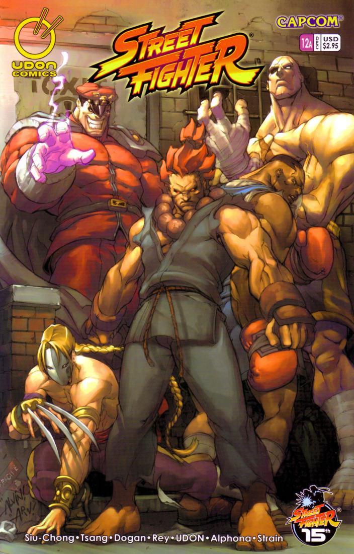 Street Fighter chap 12 - Trang 1