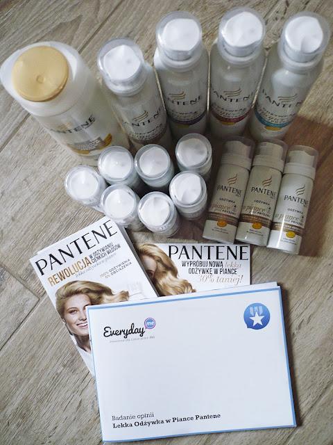Kampania Pantene na Everydayme - lekka odżywka w piance
