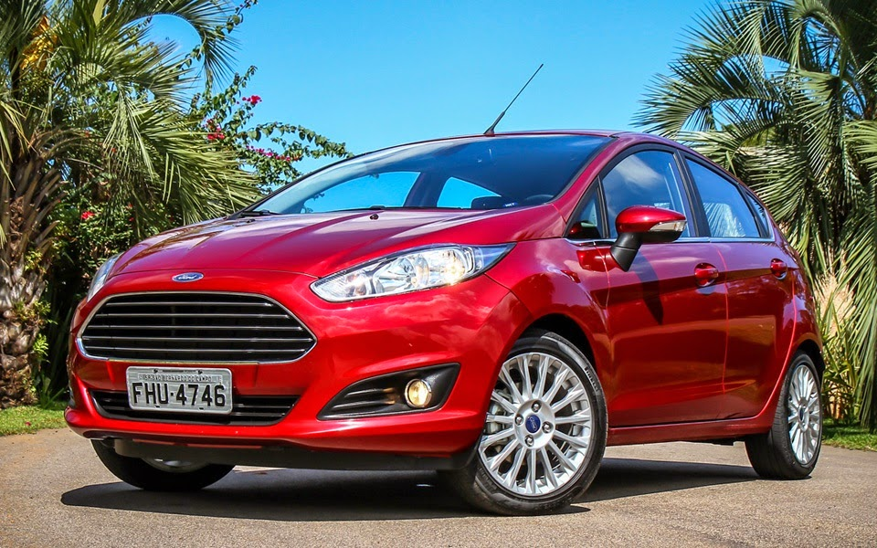 New Fiesta 2014 fotos hatch