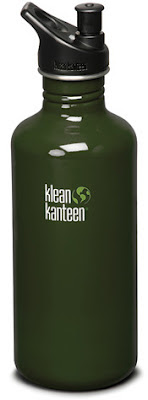 Klean Kanteen stainless-steel reuseable water bottle