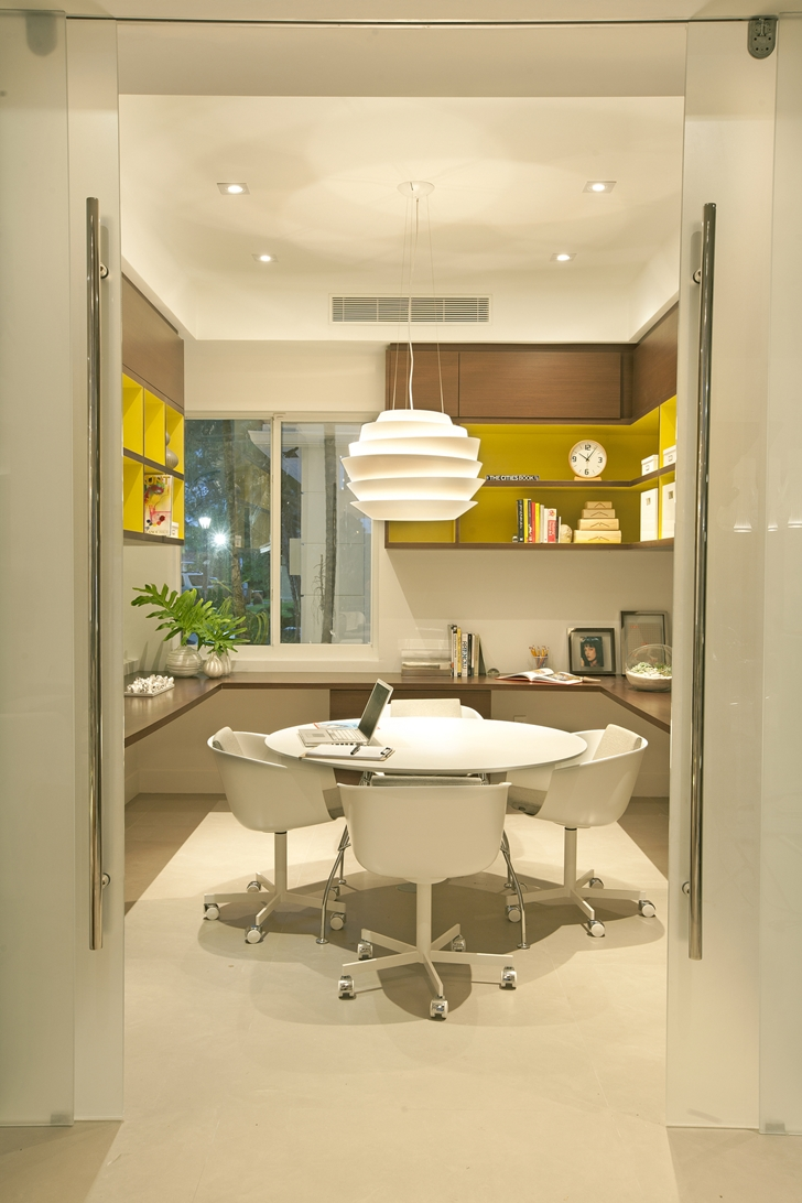 Home office in Modern home by DKOR Interiors