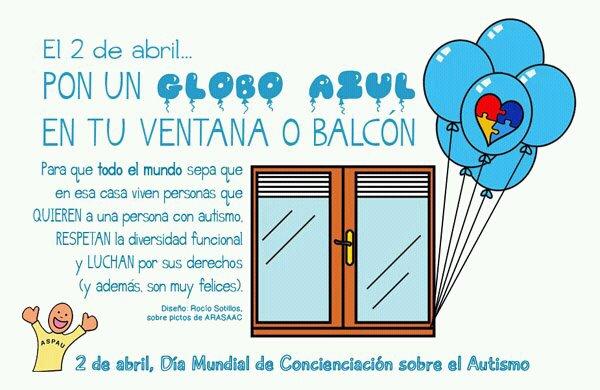 Infografia de apoto al dia mundial de concienciación del autismo