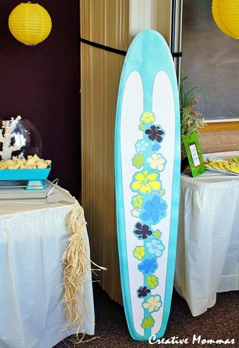 creative mommas beach themed baby shower