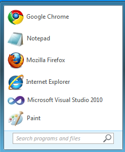 Amazing Windows7 Start Menu UI Using Pure CSS3-1