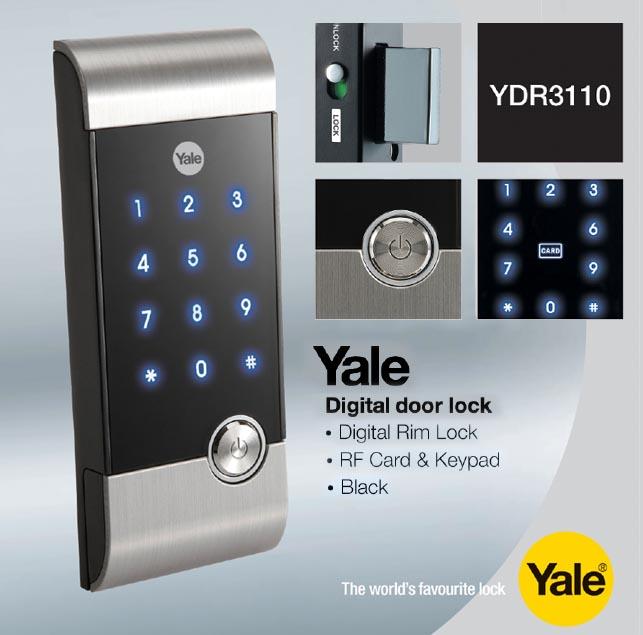 Skl Diy Uptown Yale Ydr 3110 Digital Rim Lock Now At Rm