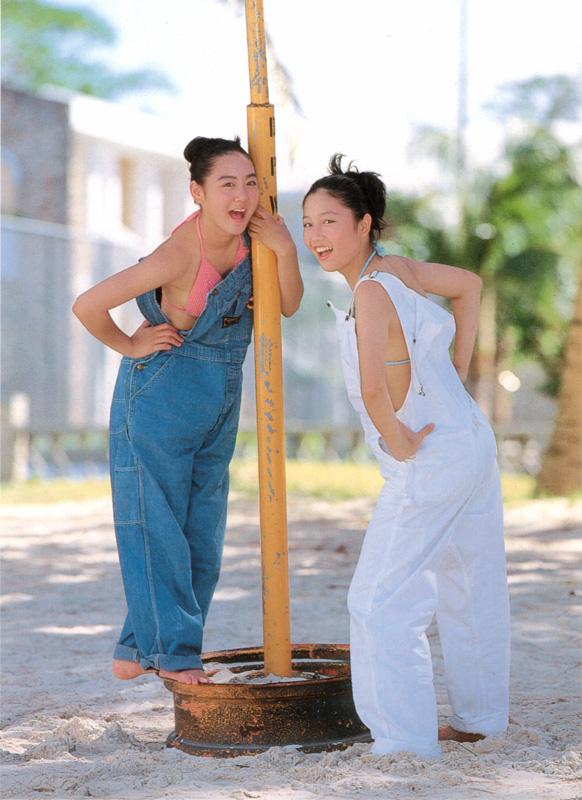 yoko mitsuya and saori nara hot and sexy japanese teens photos 05