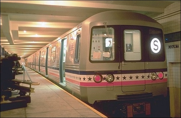 Photos of the new york transit authority in the 1970s for Nyc transit museum hours
