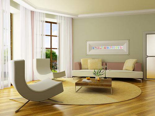 Tips Design Ruang keluarga minimalis