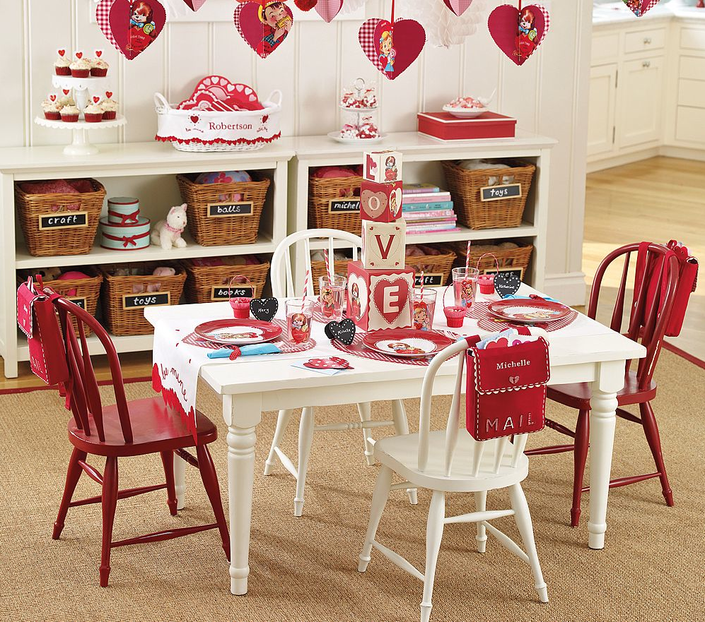 Holiday Decor Gift Ideas Pottery Barn Edition All My: Yay, I Made It!: Kid's Valentine's Party