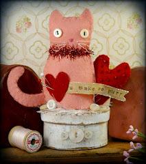 Valentine make do kitty