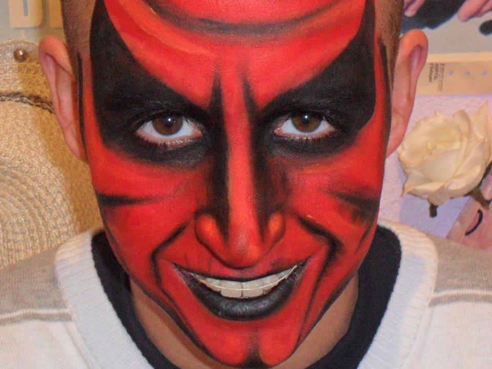 demonio - Maquillaje Demonio
