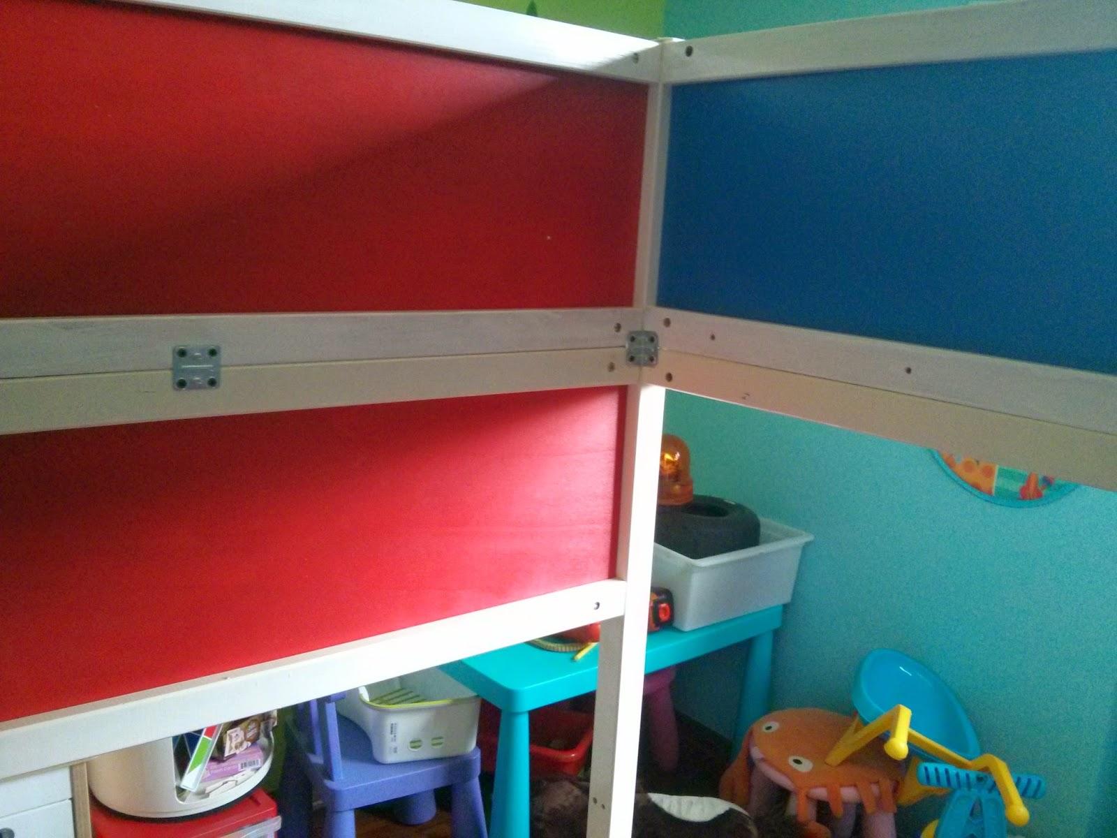 ... dei pompieri? ma certo, con un letto IKEA Kura e un po di creatività