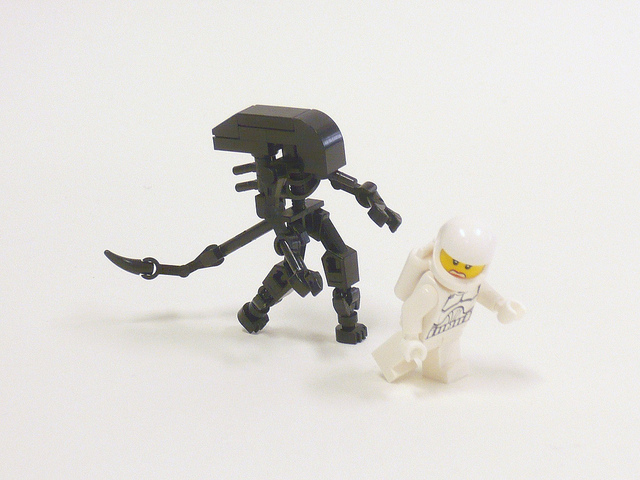 Super Punch: Lego Aliens (and more)