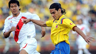 Estadísticas Colombia Vs Perú América