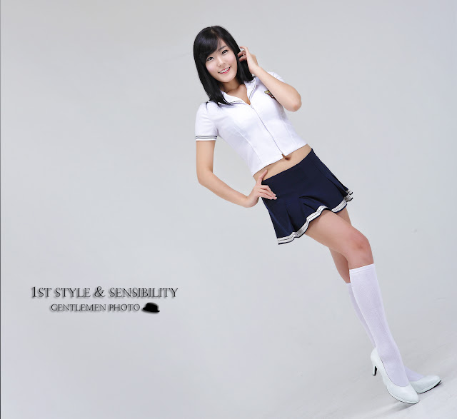 2 School Girl Yook Ji Hye-Very cute asian girl - girlcute4u.blogspot.com