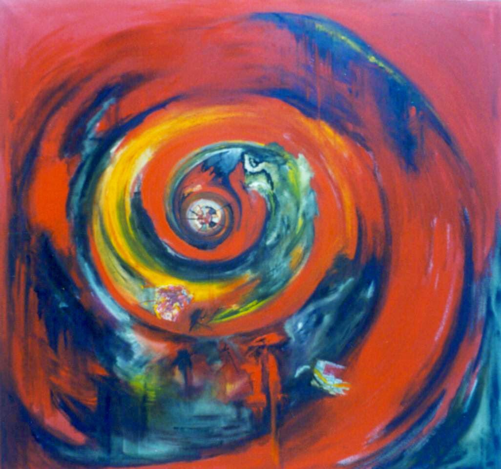 Pinturas Abstractas De Vanina Martinez Rojas