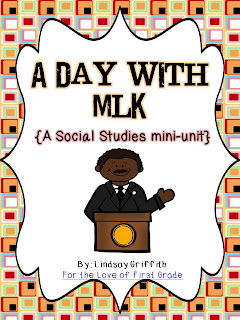 http://www.teacherspayteachers.com/Product/A-Day-With-MLK-Social-Studies-Mini-Unit-482560