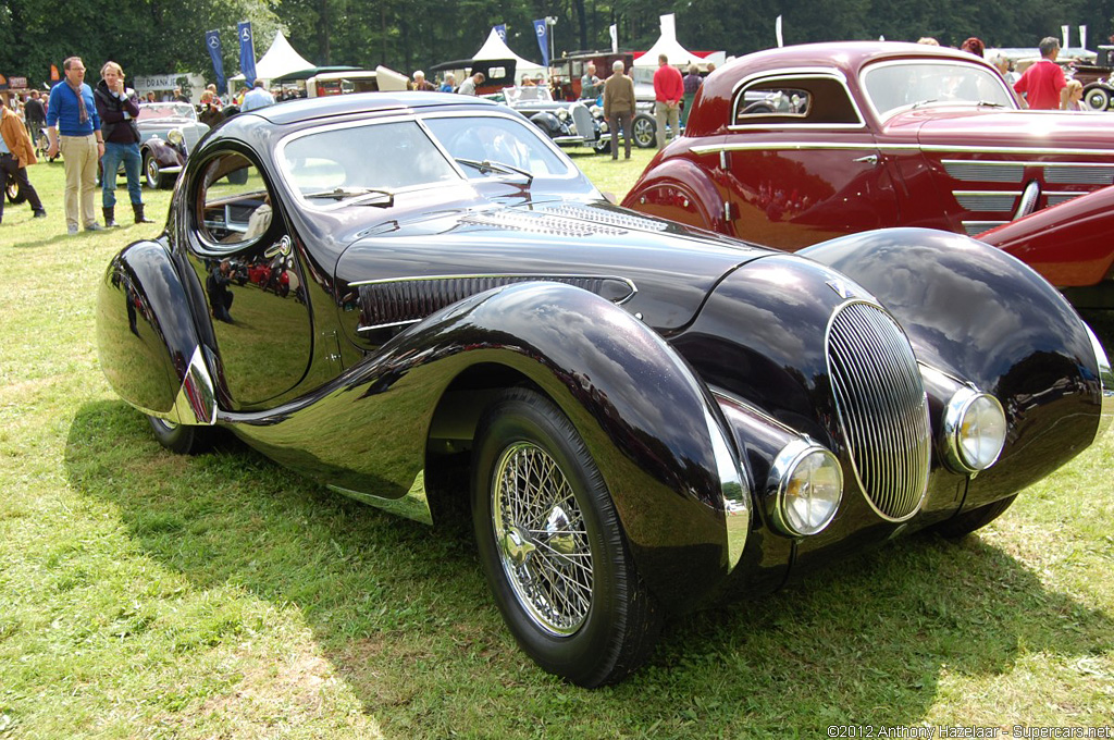 automotive cars in the world 1937 talbot lago t150c ss