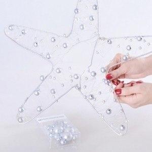 Звезда из шариков на Новый год