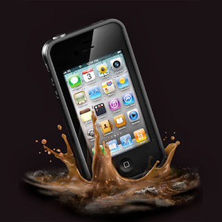 Indestructible iPhone case by LifeProof
