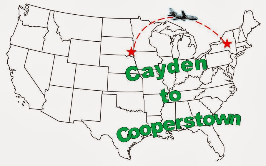 Cayden to Cooperstown