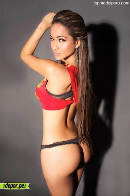 top model peruana Geraldine Castañeda foto hot