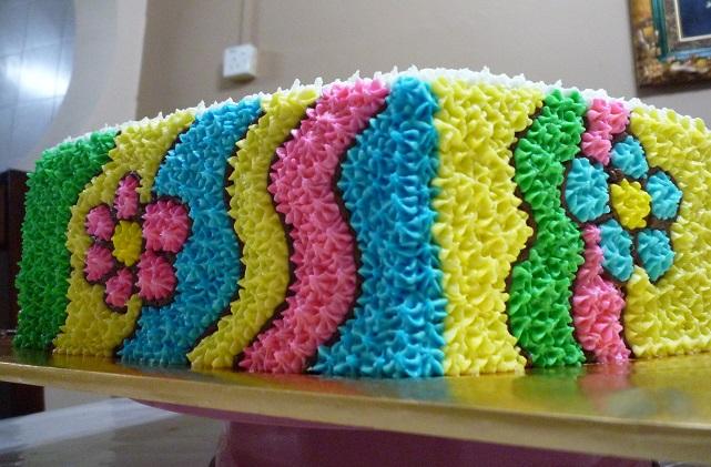 Cakes amp wedding cakes custom number one birthday cake for puan mona