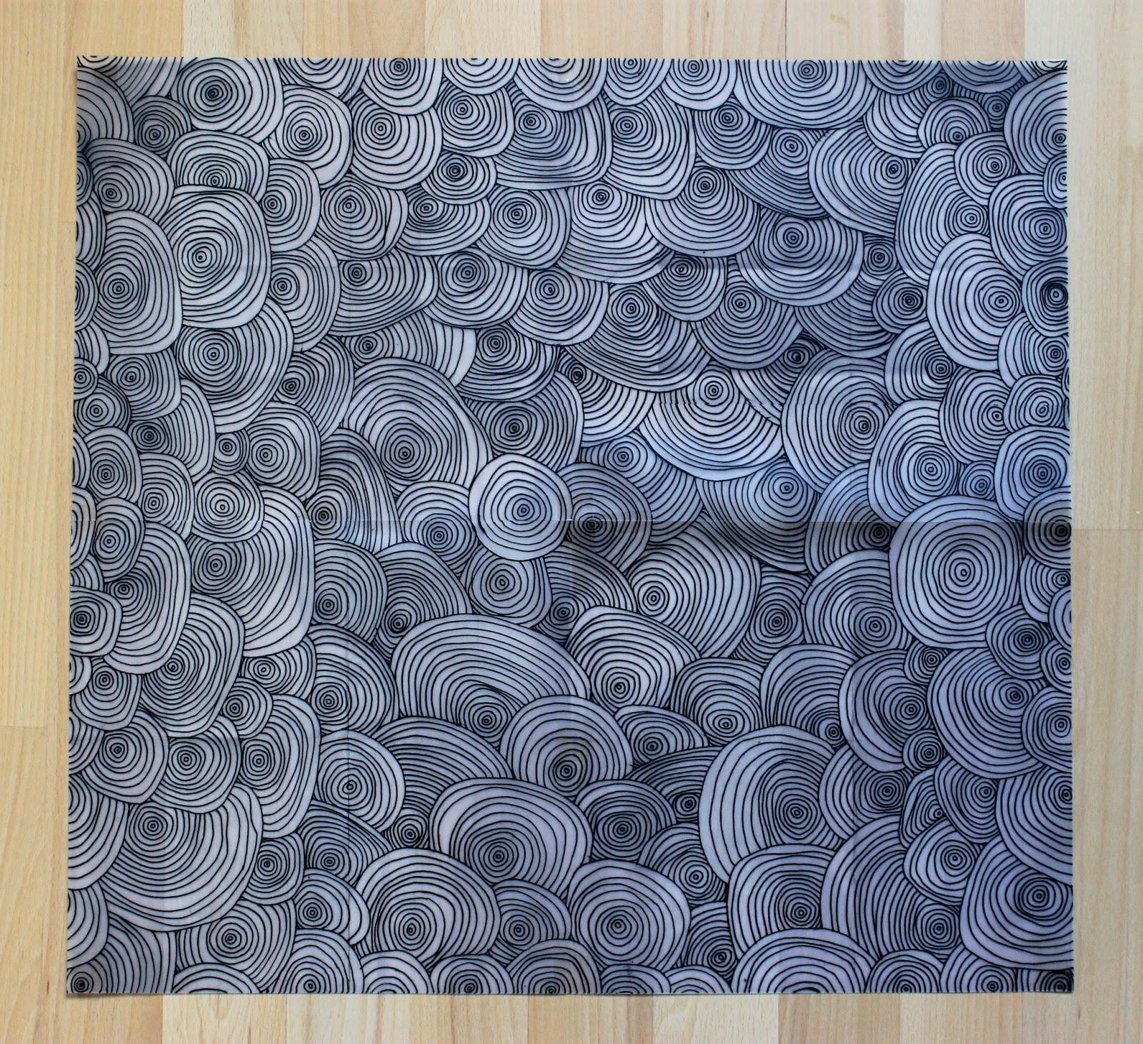notule et bouche cousue papier peint motif pour s rigraphie. Black Bedroom Furniture Sets. Home Design Ideas
