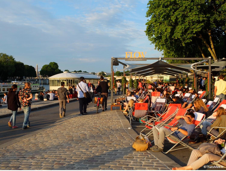 Flow restaurant terrasse sur seine Les Berges Port Pont Alexandre III Paris, (c) ThatsMee.fr