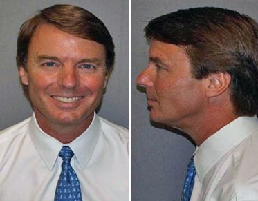 Did You Ever See A Better Mug Shot Than This One Of John Edwards How Come More Hardened Criminals And Others Charged Indicted Dont Take Pride