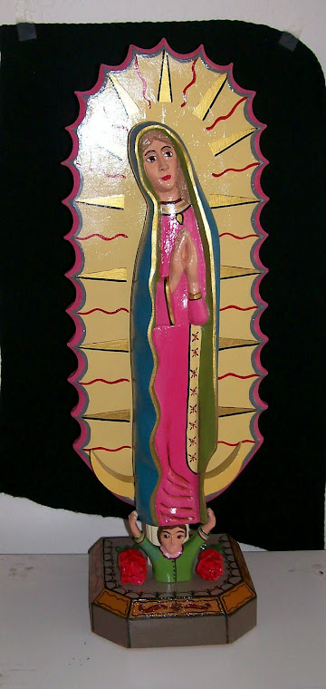BULTO - Our Lady of Guadalupe