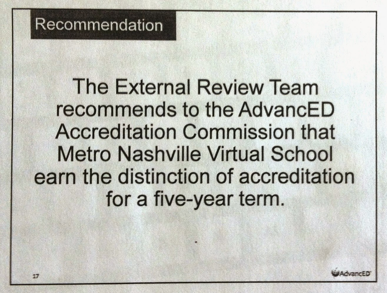 MNPSVS recommendation