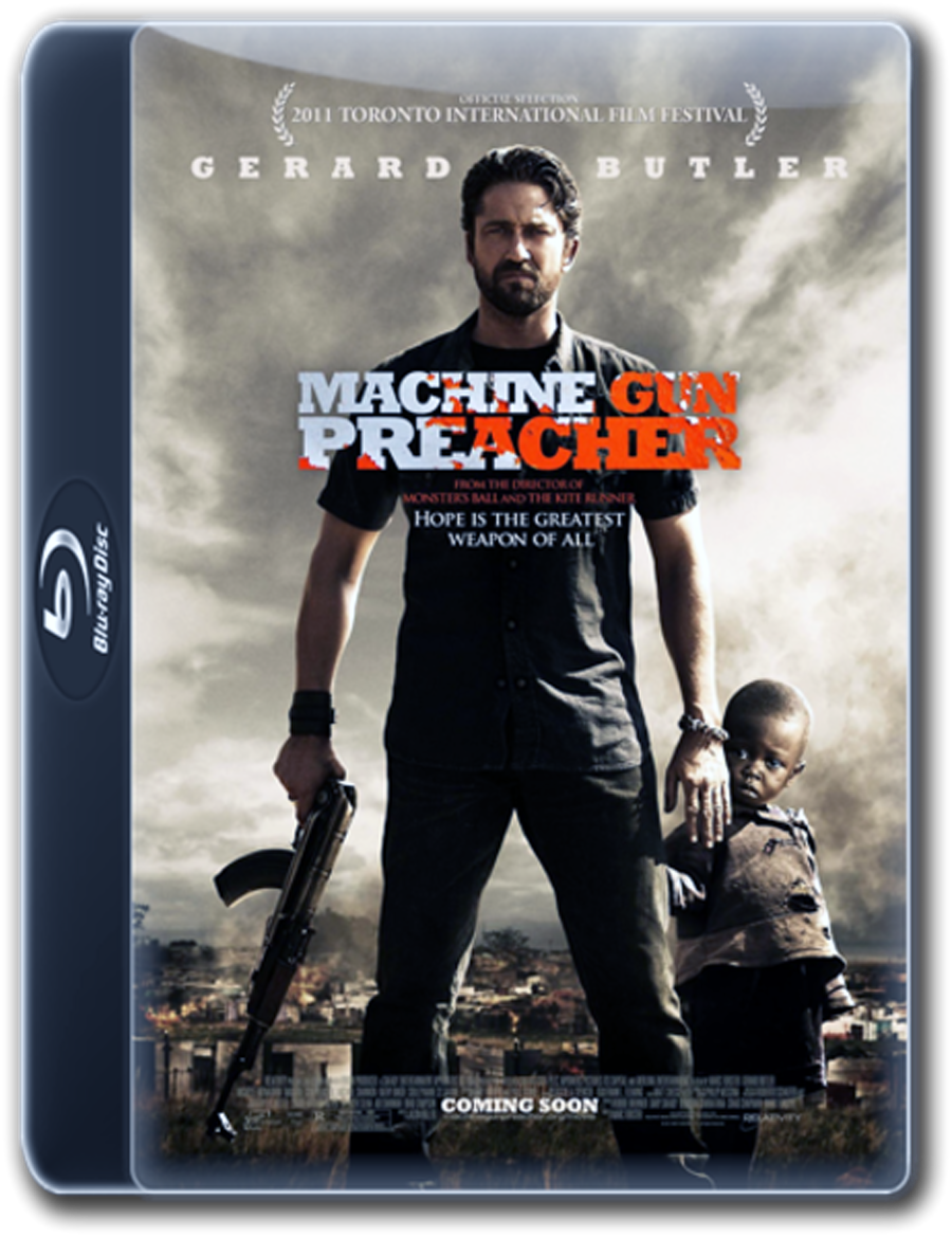 Machine Gun Preacher Blu-ray DVD Case