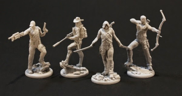 Blackout Kickstarter miniatures
