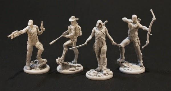 Blackout Kickstarter miniatures